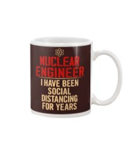 Nuclear Engineer Social Distancing For Years Mug tile