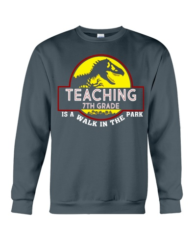 Teaching 7th Grade Is A Walk In The Park