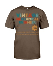 Vintage Mechanical Engineer Knows More Than He Classic T-Shirt thumbnail