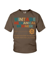 Vintage Mechanical Engineer Knows More Than He Youth T-Shirt thumbnail