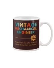 Vintage Mechanical Engineer Knows More Than He Mug thumbnail