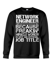 CLOTHING NETWORK ENGINEER Crewneck Sweatshirt thumbnail