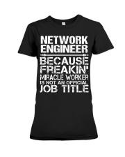 CLOTHING NETWORK ENGINEER Premium Fit Ladies Tee thumbnail