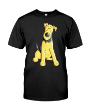 Funny Airedale Terrier Baby  Premium Fit Mens Tee thumbnail