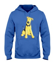 Funny Airedale Terrier Baby  Hooded Sweatshirt front