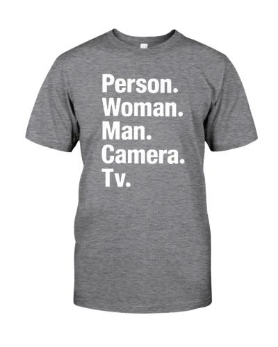 woman man camera tv shirtss