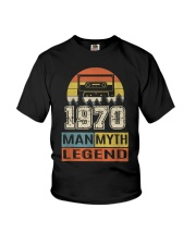 Vintage Man Myth Legend 1970 Youth T-Shirt thumbnail