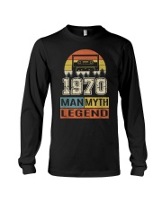 Vintage Man Myth Legend 1970 Long Sleeve Tee thumbnail