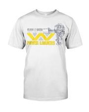 Aliens Movie Weyland Yutani Power Loader Classic T-Shirt front