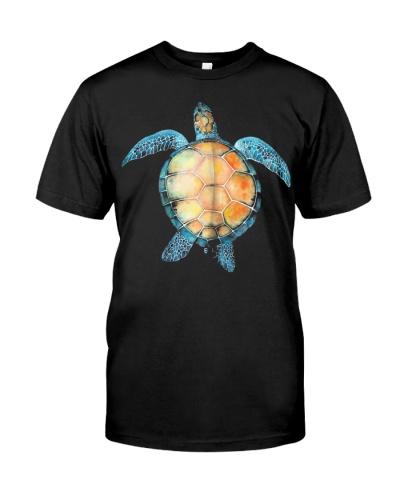 Marine Ocean Sea Turtle T Shirt Tee 2 Veteran Tshi