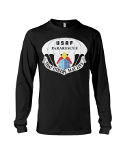Air Force Pararescue Pj Military Veteran Morale T  Long Sleeve Tee tile