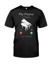 my piano Classic T-Shirt front