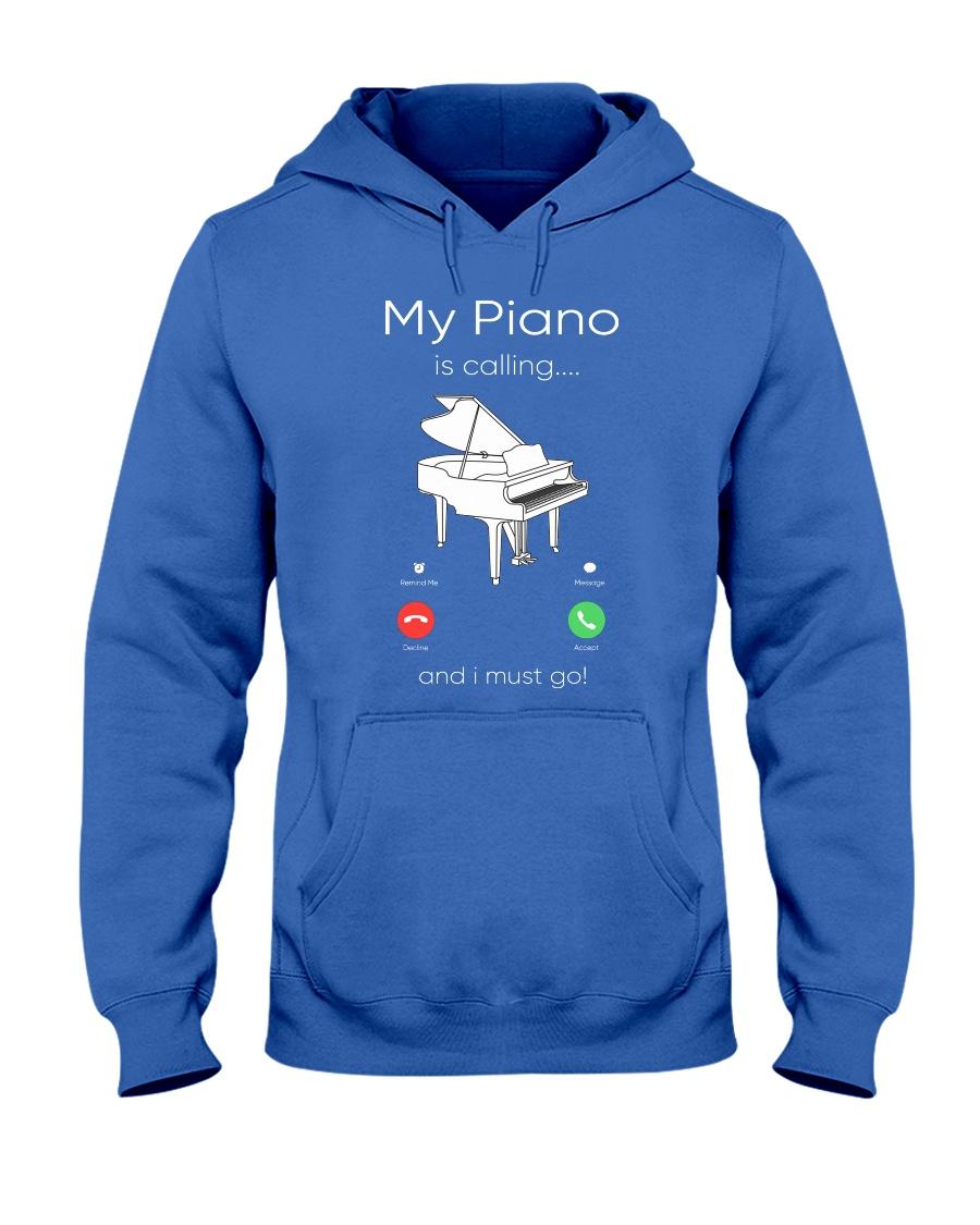 my piano Hooded Sweatshirt
