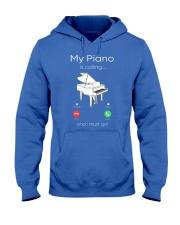 my piano Hooded Sweatshirt front