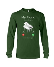my piano Long Sleeve Tee front