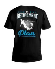 MY RETIREMENT PLAN - WAKEBOARDING V-Neck T-Shirt thumbnail