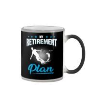 MY RETIREMENT PLAN - WAKEBOARDING Color Changing Mug thumbnail