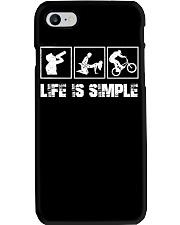 BMX - LIFE IS SIMPLE Phone Case thumbnail