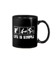 BMX - LIFE IS SIMPLE Mug thumbnail