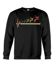 RETRO BODYBOARDING HEARTBEAT Crewneck Sweatshirt thumbnail