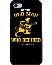 BE THE OLD MAN - PAINTBALL Phone Case thumbnail