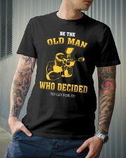 BE THE OLD MAN - PAINTBALL Classic T-Shirt lifestyle-mens-crewneck-front-6