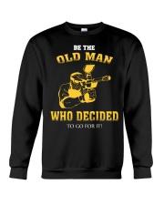 BE THE OLD MAN - PAINTBALL Crewneck Sweatshirt thumbnail