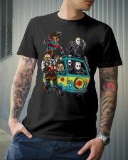 The Massacre Machine Classic T-Shirt lifestyle-mens-crewneck-front-6
