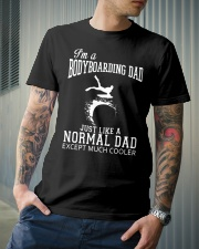 LIMITED EDITION - BODYBOARDING DAD Classic T-Shirt lifestyle-mens-crewneck-front-6