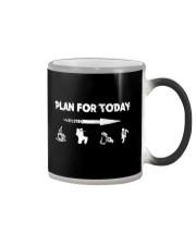 PLAN FOR TODAY PAINTBALL Color Changing Mug thumbnail