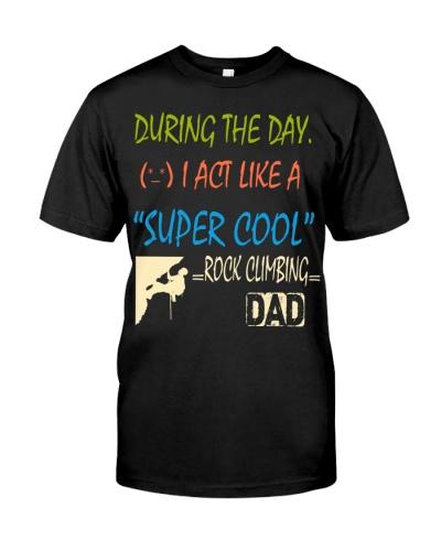 ''S-U-P-E-R C-O-O-L'' - ROCK CLIMBING DAD