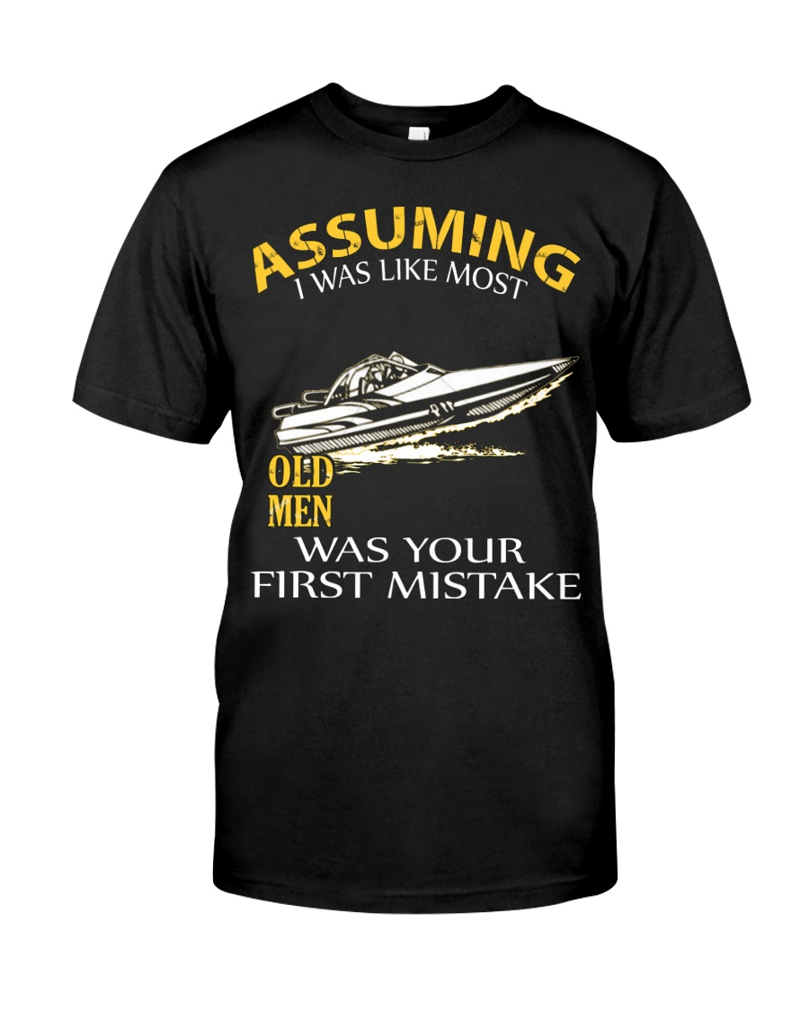 JET-BOATING OLD MEN  Classic T-Shirt