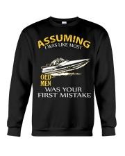 JET-BOATING OLD MEN  Crewneck Sweatshirt thumbnail