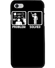 PROBLEM SOLVED PAINTBALLING Phone Case thumbnail