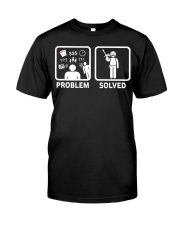 PROBLEM SOLVED PAINTBALLING Classic T-Shirt front