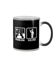 PROBLEM SOLVED PAINTBALLING Color Changing Mug thumbnail