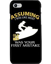 JET SKIING OLD MEN Phone Case thumbnail