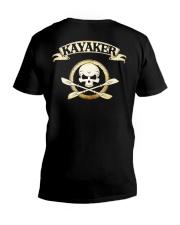 KAYAKER SKULL V-Neck T-Shirt thumbnail