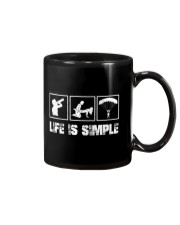 SKYDIVING - LIFE IS SIMPLE Mug thumbnail