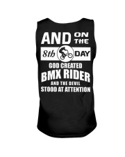 GOD CREATED BMX RIDER Unisex Tank thumbnail