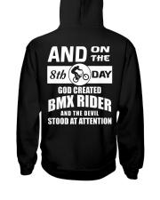 GOD CREATED BMX RIDER Hooded Sweatshirt thumbnail