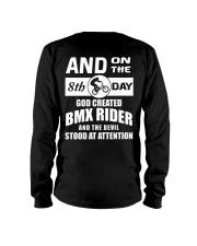 GOD CREATED BMX RIDER Long Sleeve Tee thumbnail