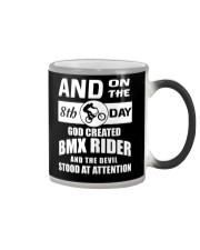 GOD CREATED BMX RIDER Color Changing Mug thumbnail