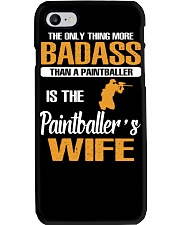 BADASS THAN A PAINTBALLER IS THE PAINTBALER'S WIFE Phone Case thumbnail