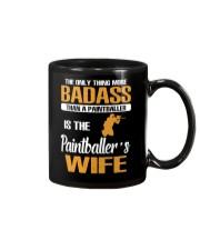 BADASS THAN A PAINTBALLER IS THE PAINTBALER'S WIFE Mug thumbnail