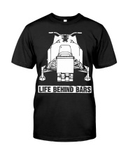 SNOWMOBILE - LIFE BEHIND BARS Classic T-Shirt front