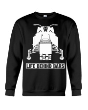 SNOWMOBILE - LIFE BEHIND BARS Crewneck Sweatshirt thumbnail