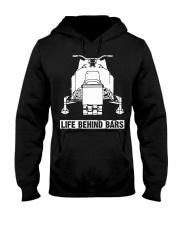 SNOWMOBILE - LIFE BEHIND BARS Hooded Sweatshirt thumbnail