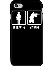 YOUR WIFE MY WIFE LOVE PAINTBALLING Phone Case thumbnail