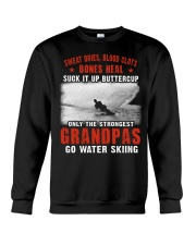 ONLY THE STRONGEST GRANDPAS GO WATER SKIING Crewneck Sweatshirt thumbnail